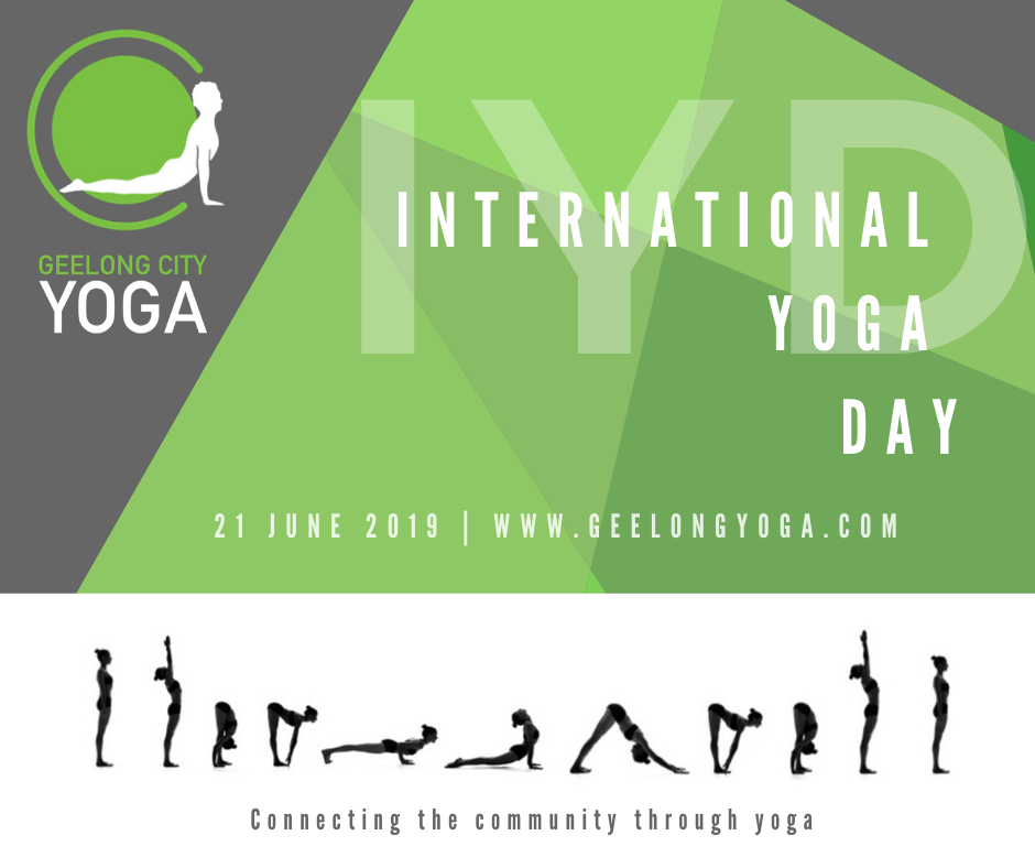 International Yoga Day Yogathon 2020 Geelong City Yoga